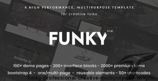 Funky - Professional Creative Multi-Purpose Template