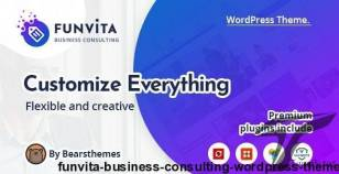 Funvita |  Business Consulting WordPress Theme By bearsthemes