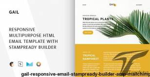 Gail – Responsive Email + StampReady Builder & Mailchimp