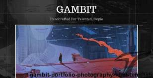 Gambit - Portfolio / Photography HTML Template By achtungthemes