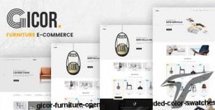 Gicor - Furniture OpenCart Theme (Included Color Swatches) By posthemes
