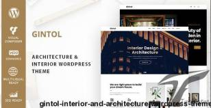 Gintol - Interior And Architecture WordPress Theme By zozothemes