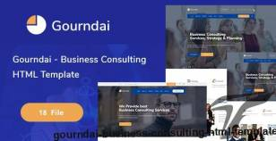 Gourndai - Business Consulting  HTML Template By template_mr
