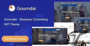 Gourndai - Business Consulting WordPress Theme By zozothemes