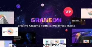 Graneon - Creative Agency & Portfolio WordPress theme By harutheme