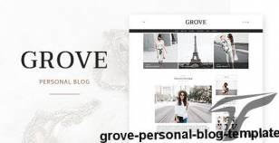 Grove - Personal Blog Template