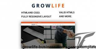 GrowLife - Business And Agency Template By jeriteam