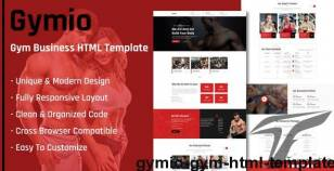 Gymio - GYM HTML Template By thesoftking