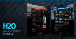 H2O - Action / Gaming Responsive phpBB 3.2 Theme By planetstyles