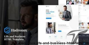 Hadronox - Life and business HTML Template By lucknow-theme
