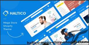 Haltico – Mega Store Shopify Theme By hastech