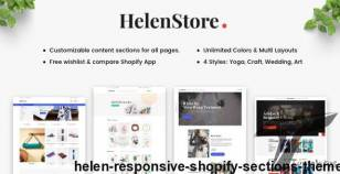 Helen - Responsive Shopify Sections Theme By arenatheme