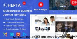 Hepta - Multipurpose Business Joomla Template By rs-theme