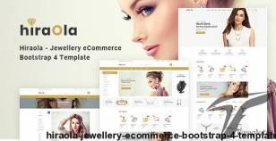 Hiraola - Jewellery eCommerce Bootstrap 4 Template By codecarnival