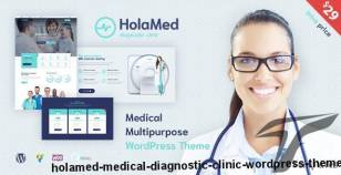 HolaMed - Medical Diagnostic Clinic WordPress Theme By like-themes