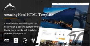 Hotel HTML Template | HotelWP By thimpress