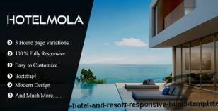 Hotelmola - Hotel and Resort Responsive HTML5 Template By pixelthemez