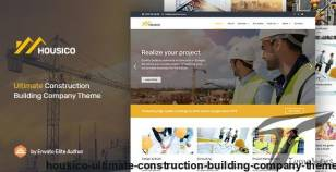 Housico - Ultimate Construction Building Company Theme By flexipress