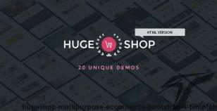 HugeShop  - Multi-Purpose eCommerce Bootstrap 4 Template By hastech
