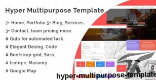 Hyper Multipurpose Template By analoglife