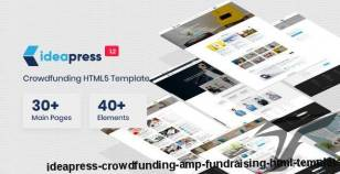 Ideapress - Crowdfunding & Fundraising HTML Template By themedunk