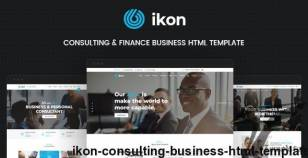 ikon - Consulting Business HTML Template