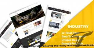 Industry - Industral , Engineering & Factory HTML5 Responsive Template By thethemepond