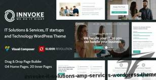Innvoke - IT Solutions & Services WordPress Theme By insignia_technolabs