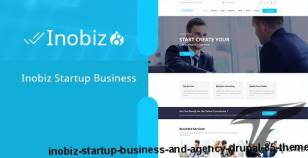 Inobiz - Startup Business and Agency Drupal 8.5 Theme By drupalet