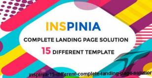 Inspinia - 15 Different Complete Landing Page Solution By themes_mountain