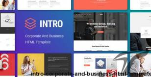 INTRO - Corporate And Business HTML Template By engotheme
