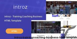 Introz - Training,Coaching Business HTML Template By jrbthemes