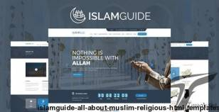 IslamGuide - All About Muslim Religious HTML Templates By idealbrothers