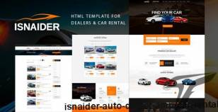 Isnaider - Auto dealer & Car Rental By pixity