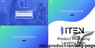 ITEN - Product Landing Page By lifeinsys