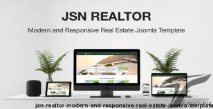 JSN Realtor - Modern and Responsive Real Estate Joomla Template By joomlashine