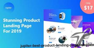 Jupiter - Best Product Landing Page Template By quomodotheme