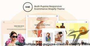 Karic - Multiple and Purpose Creative Shopify Theme By 9amstudio