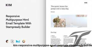 Kim – Responsive Multipurpose Email Template + Stampready Builder