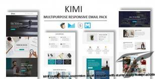 Kimi - Multipurpose Responsive Email Template With Stamp Ready Builder Access