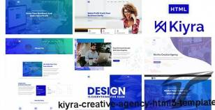 Kiyra - Creative Agency HTML5 Template