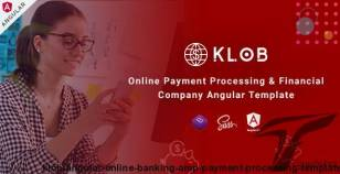Klob - Angular Online Banking & Payment Processing Template By envytheme