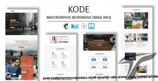 Kode - Multipurpose Responsive Email Template With Stamp Ready Builder Access