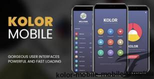Kolor Mobile | Mobile Template