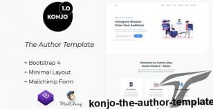 Konjo - The Author Template By krivi