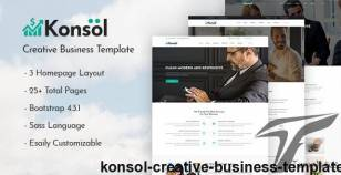 Konsol – Creative Business Template By snazzy-theme