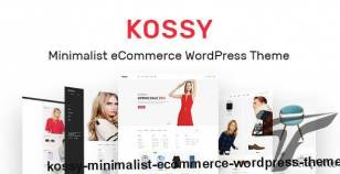 Kossy - Minimalist eCommerce WordPress Theme By apuswp