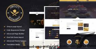 La Boom - Food & Restaurant Bistro WordPress Theme By spyropress