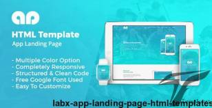 Labx - App Landing Page HTML Templates By thesoftking