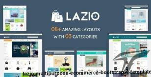 Lazio - Multipurpose eCommerce Bootstrap 4 Template By hastech